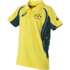 Asics Cricket Australia Replica ODI Kids Cricket Shirt